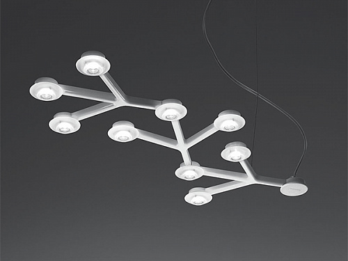 Подвесной светильник led net artemide led Net line suspension 66 1589050A
