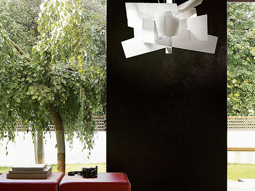 Подвесной светильник big bang foscarini big bang xl suspension
