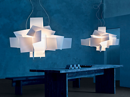 Подвесной светильник big bang foscarini big bang l suspension