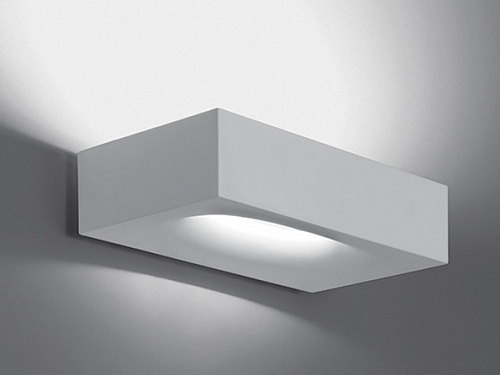 Бра melete artemide melete wall white led dimmable 1633010a